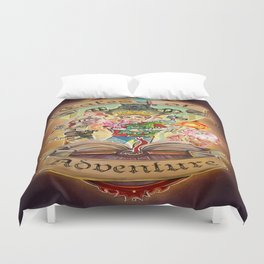 Tales of Adventure Duvet Cover
