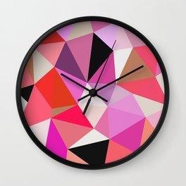 Lipstick Tris Wall Clock
