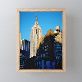Empire State of Mind Framed Mini Art Print