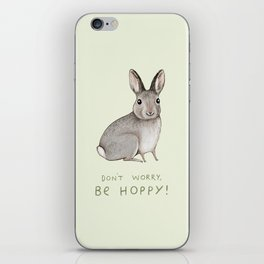 Don't Worry Be Hoppy iPhone Skin