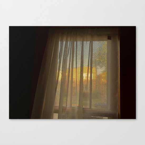 Afternoon Sun in Early May Canvas Print