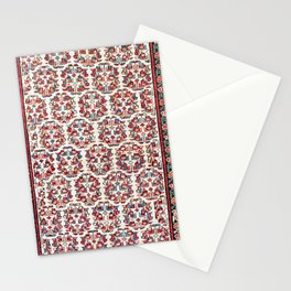 Kurdish Azerbaijan Northwest Persian Carpet Print Stationery Cards