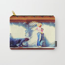 Falling Behind Carry-All Pouch