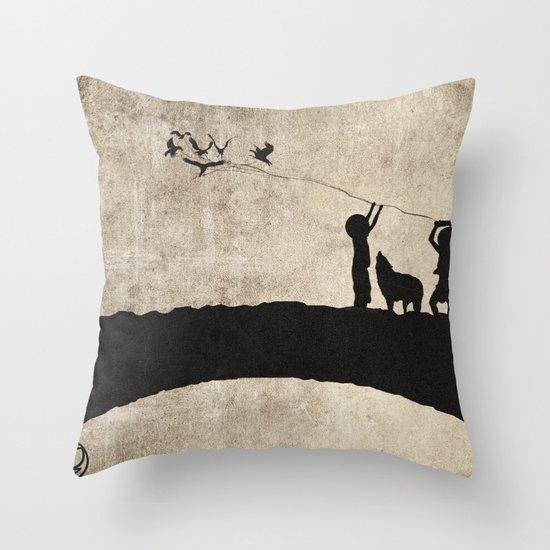 retaliation Throw Pillow