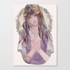 bisikan Canvas Print