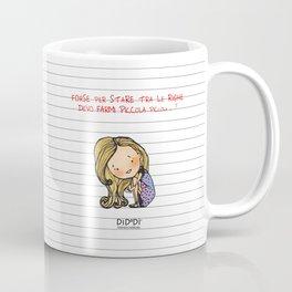 """""""Tra le righe"""" Coffee Mug"""