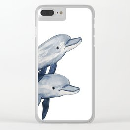 Bottlenose Clear iPhone Case
