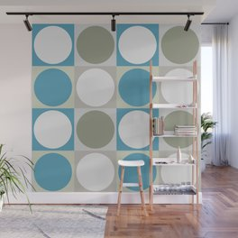 Circles and Squares Wall Mural
