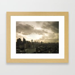 BKK Framed Art Print