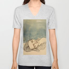 Sleep and Restore Unisex V-Neck