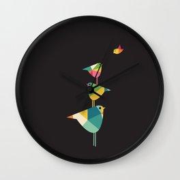 Birds Just Birds Wall Clock
