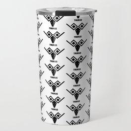 taurus astrology pattern Travel Mug