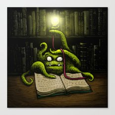 Octobook Canvas Print