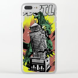 Godzilla War III Clear iPhone Case
