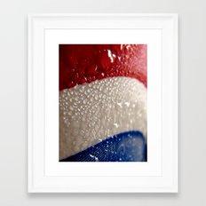 4th of July Condensation Framed Art Print