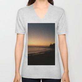 First light - Moffat Beach, Caloundra Australia Unisex V-Neck