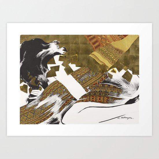 OXYMORON #1 Art Print