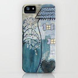 Wonky House iPhone Case