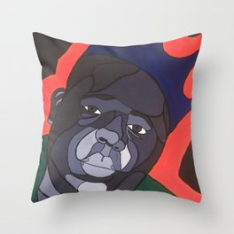 Big Poppa Throw Pillow