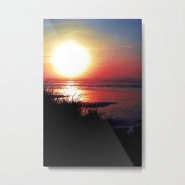 Suns Last Breath Metal Print