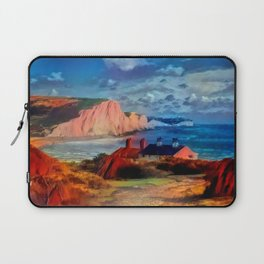 Dover in the Colors Of Ayers Rock Laptop Sleeve