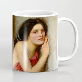 """John William Waterhouse """"Thisbe"""" Coffee Mug"""