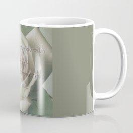 An Open Heart  Coffee Mug