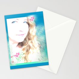 Holiday Dreams Self Portrait Stationery Cards