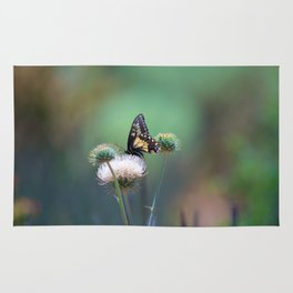 Butterfly Thistle Rug