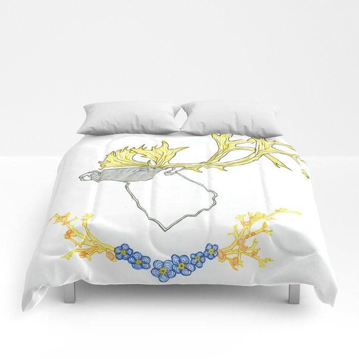 Caribou Spirit Comforters