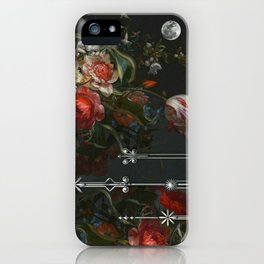 Scarlet Victorian Moon iPhone Case