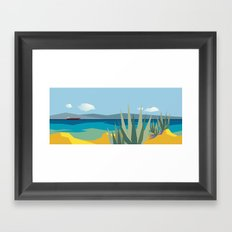 The passage Framed Art Print
