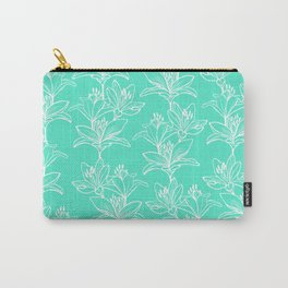 Lily Love in Mint Carry-All Pouch
