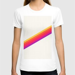 VHS Rainbow 80s Video Tape T-shirt