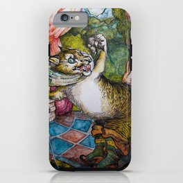 Puss in boots iPhone Case