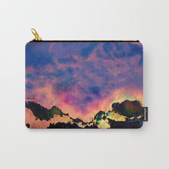 The World On Fire Carry-All Pouch