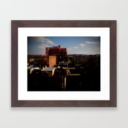 Highrise Framed Art Print