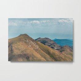 Pikes Peak Mountain Landscape Metal Print