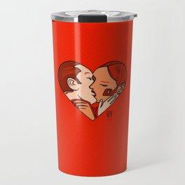 The kiss Travel Mug