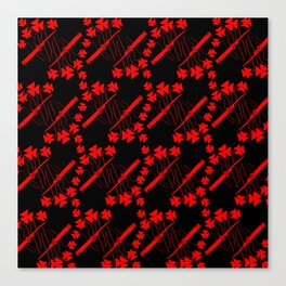 Switchblades & Shamrocks Canvas Print