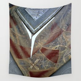 Nurturing Nature . The Healing Hand Wall Tapestry