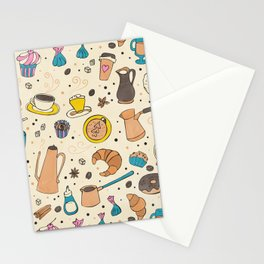 Spicy coffee Stationery Cards