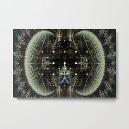 Mobius Forest Metal Print