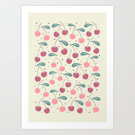 Cherry Delight Art Print
