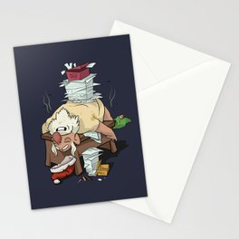 Sleepy Santa Stationery Cards