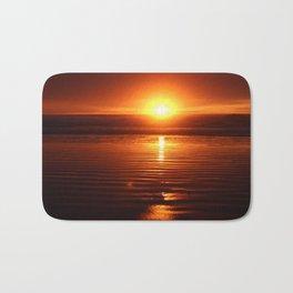 Beach Sunset Bath Mat