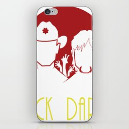 the adventure of rick and daryl iPhone Skin