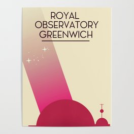 Royal Observatory Greenwich Poster