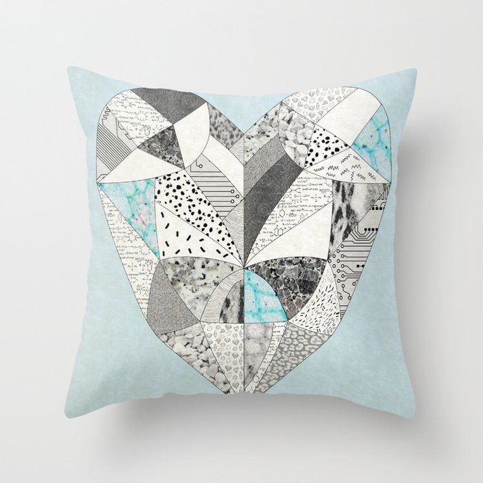 CHEMICAL REACTION  Throw Pillow
