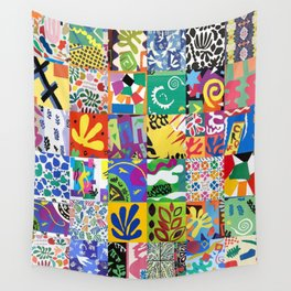 Henri Matisse Montage Wall Tapestry